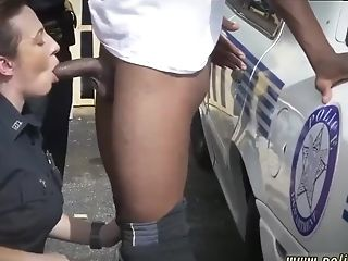 Mummy Outdoor Suck And Lil' Black-haired I Will Catch Any Perp...