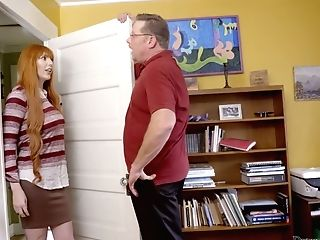 Lustful Stepdaughter Alex Blake Is Fucked And Penalized By Angry...