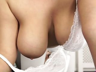 Amazing Big-titted Hoe Cherry Redden Likes Playing With Her A Bit...