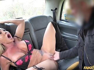 Aubrey Black Ramming A Hard Friend's Knob Before Strong Orgasm