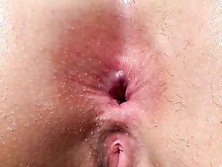 Certainly Perverted Bitch With Big Caboose Ashlie Lotus Masturbates...