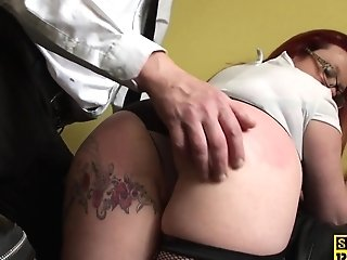 Matures Brit Sub Predominated Over And Penetrated