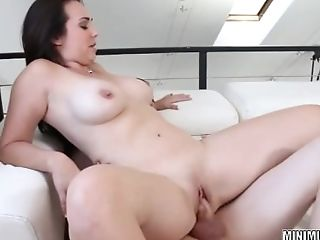Holly West Takes Some Dick In Her Taut Twat