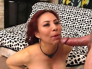 Ginger-haired Matures Claudia Fox Rails A Trouser Snake
