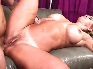 34g Adult Movie Star Xander Ass-fuck Fucked Lounging On The Back By...