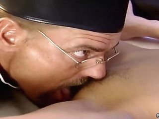 German Antique - Sexy Cougar Wake Up With Fuck