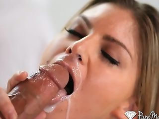 Puremature - Well-rounded Brianna Brooks Is Pounded