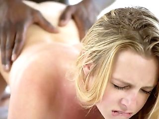 Muddy Head And Interracial Dickriding For Blonde Mummy Brooke Wylde