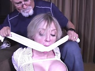 Deviant Matures Engaged In Restrain Bondage Joy - Cougar Domination...