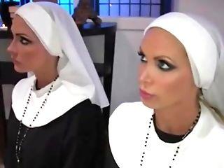 Nuns Honor Priest - Nikki Benz