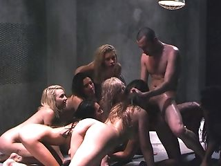 Incredible Group Fuck-a-thon With Kinky Carmen Caliente And Friends