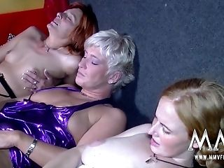 MMV FILMS All Aged Lezzy Threesome