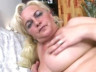 Europemature Huge-boobed Matures Blonde Solo Showoff