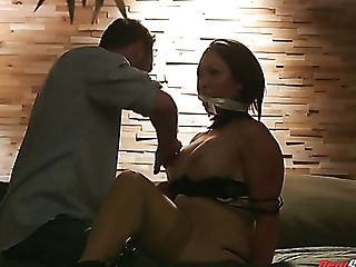 Obedient Australian Yasmin Scott Gets Tied Up And Violently Fucked