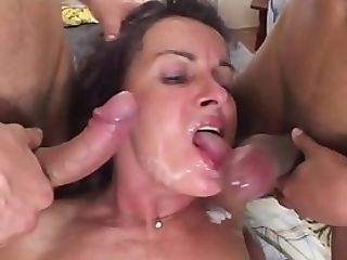 Matures Double Penetration Threesome Fuck