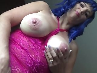 Dirty Talking Tit Smacking Lezzy Equipment Solo Point-of-view
