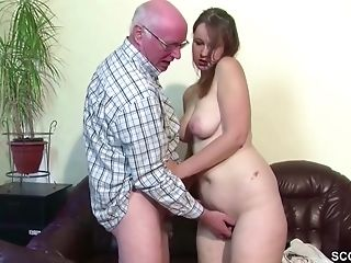 Yummy Chubby Nubile With Big Booty Luvs Fucking Hard With Old Fellow