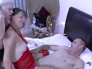 Agedlove Lacey & Pandora And Horny Man Meat