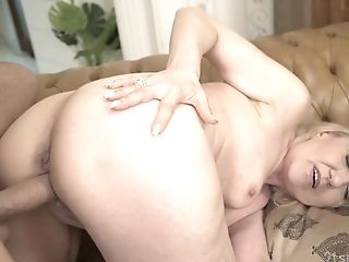 Wild Emotional Blonde Matures Whore With Big Booty Nanney Loves...