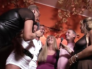 German Matures Swingers Having Joy