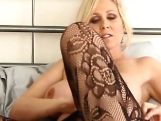 Cougar Julia Ann Taunts You With Undergarments & Helps You Jizz!