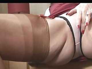 Big Tits Matures Panty Have Fun And Striptease