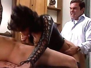 Vivian In Undergarments Pleasing Two Guys