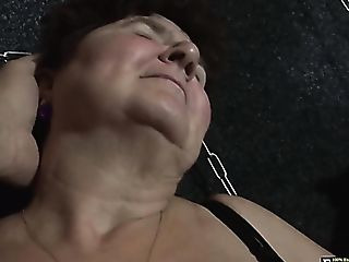 Subordinated Chubby Matures Whore Hana Has To Give A Hand Jobs