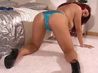 Elle P Flashing Her Knickers . . .