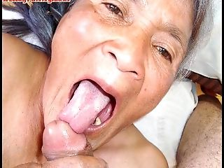 Old latina unexperienced granny  with big breasts and big bootie