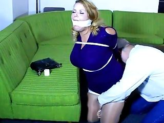 Lady must stay in restrain bondage!