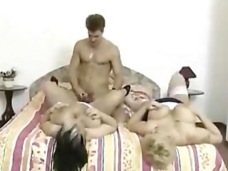 Fucking Two Matures Chesty Bbws