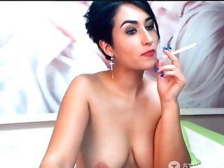 Aunty Romania Mummy - Big Tits _ Spreads Cunny Five