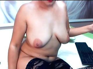 Aunty Romania Mummy - Big Tits _ Spreads Fuckbox Ten