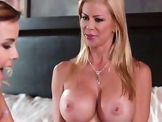 Big-chested Stepdaughter Gropes
