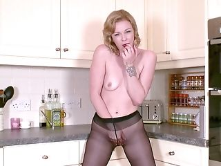 Mischievous Matures Housewife Pantyhose Obsession Solo