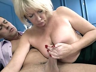 The Private Matures Educator Rosemary - Huge-boobed Blonde With Big...