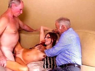 Old Matures Anal Invasion Frankie And The Group Take A