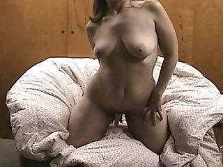 Hard Wand Orgasm Chubby Mom Ruby