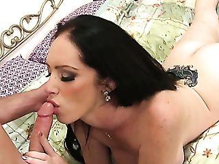Damn Appetizing Big Titted Australian Mummy Bella Maree Gets...