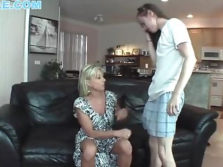 Real Stepmom Matures Fucks Stepson While Hubby Is Away