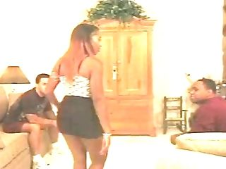 A Lucky Man Gets His Jiggly Prick Decently Idolized By A Gorgeous...