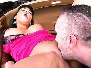 Keiran Lee gives delicious Mercedes Carreras honeypot