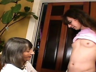 Mrs Loving Commences Slave Training At Mummy's Request