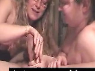 Two Matures Breezies Deepthroat And Jism In