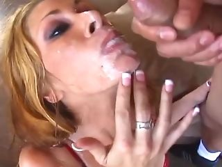 Manhood Horny Blonde Bitch
