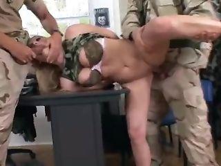 Elinor Gasset Military Group Sex Porno Movie