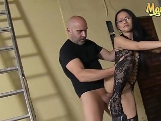 'chicas Loca - Hot Asian Mummy Lady Mae Assfucked Whipped...
