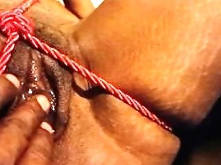 Black Cougar Shackled, Spanked, Fingerblasted & Creams On Big...