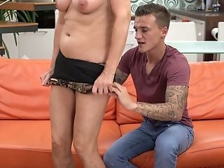 Youthful Hot Blooded Dude Fucks Old Baby Sitter Jana Nelle And...